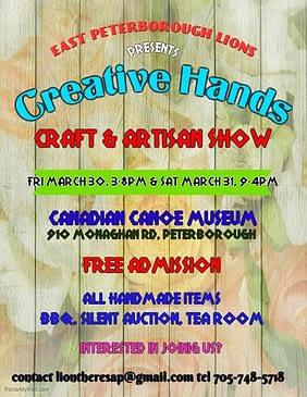 CREATIVE HANDS CRAFT AND ARTISAN SHOW