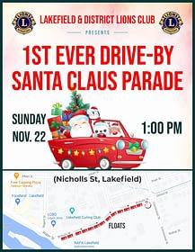 Lakefield Santa Claus Parade 2020